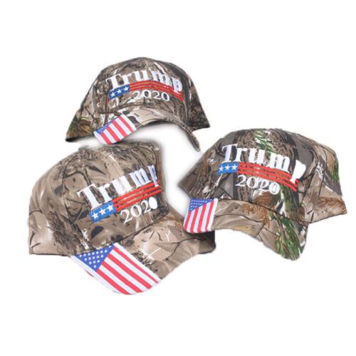 Trump 2020 MAGA Camo Embroidered Hat Keep Make America Great Again Ball Cap USA