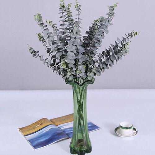 Kunststoff Künstlich Blume Eukalyptus//Pflanze Grüne Blätter Büro Zuhause Dekor