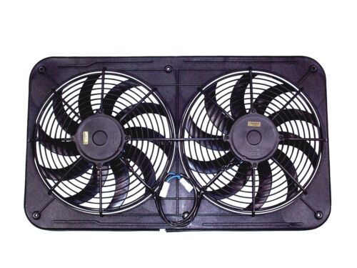 "MaraDyne MJS23K Jetstreme II Dual 12/"" Electric Cooling Fans w// Shroud 2310 CFM"