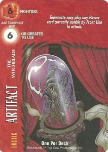 OVERPOWER-Artifact-The-Witchblade-IMAGE-Very-Rare-OPD