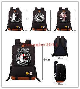 Danganronpa-Backpack-Monokuma-Schoolbag-Packsack-Travel-Bag