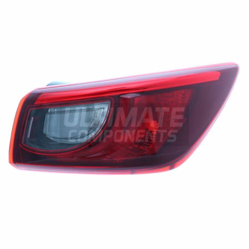 Mazda CX-3 Hatchback 4//2015-/> Outer Wing Rear Light Lamp Non Led Drivers Side