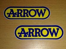 Arrow Pegatina Sticker decal autocollant logotipo schrifzug escape exhaust moto KL