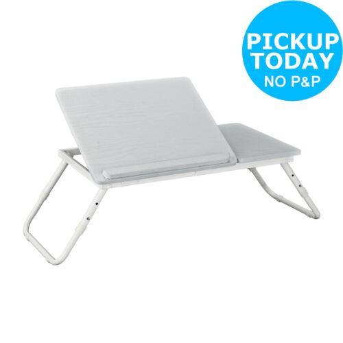 White Argos Home Portable Laptop Tray