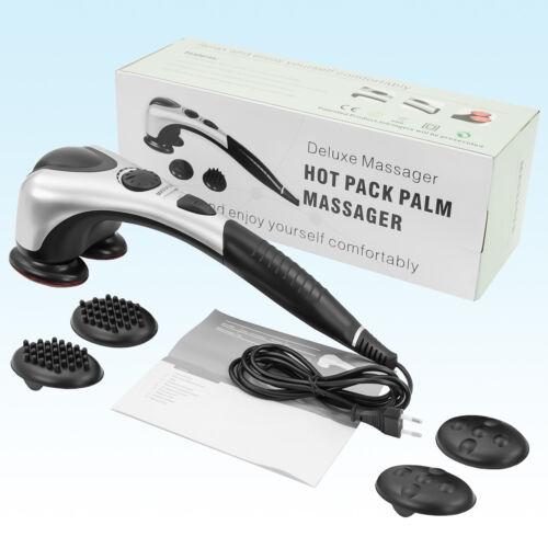Dispositivo Massaggiante Bl-3200 con 2 Testine Schiena Massaggiatore Vibrazione