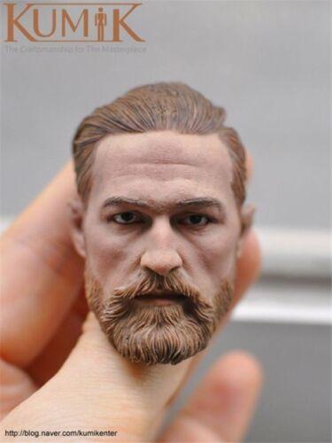 1:6 Scale Male Head Sculpt KUMIK  carving  Model KM16-91 F 12/'/' Action Figure CN