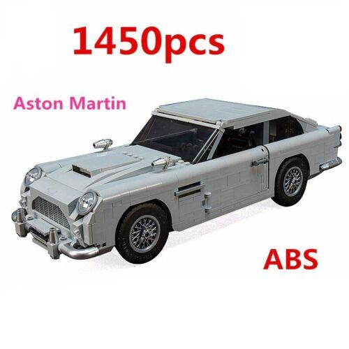 1450 Pcs Lego 10262 Aston Martin DB5 Car Technic Series Building Blocks Bricks