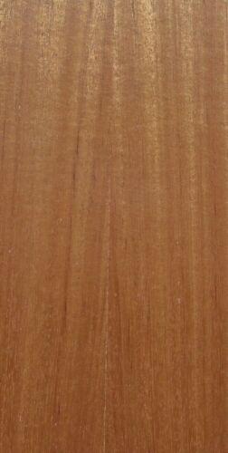 "Sapele Ribbon Mahogany wood veneer edgebanding 2-1//2/"" x 120/"" inches no adhesive"