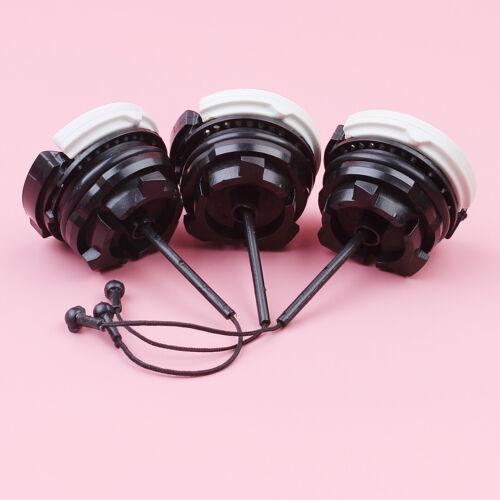 3pcs Fuel Tank Cap For Stihl MS181 MS200 MS210 MS211 MS230 MS250 #000 350 0525
