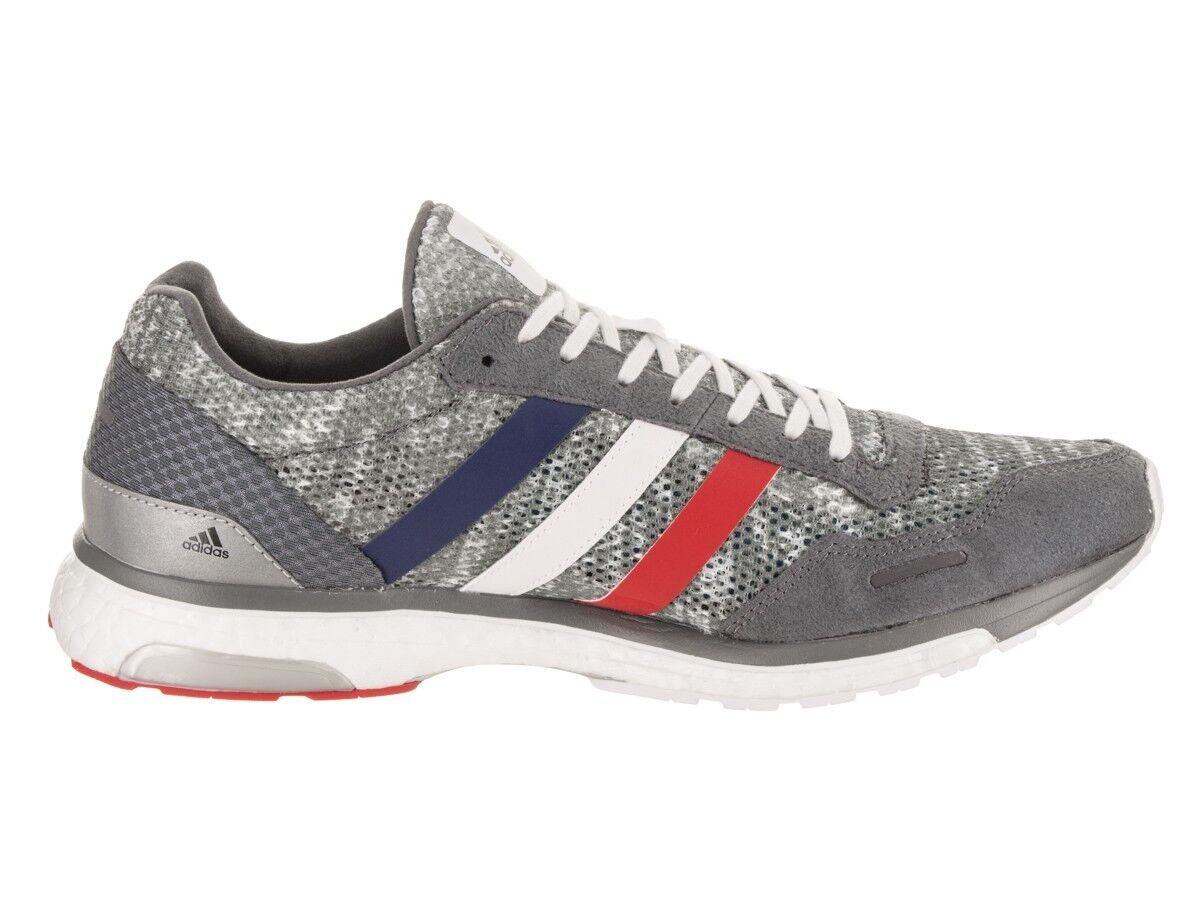Adidas Adizero Adios 3 Aktiv Zapatillas para Correr, Hombre Tallas 12-13 D, gris