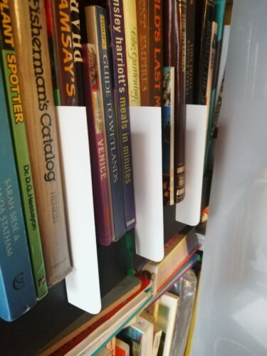 CD Shelf Markers Dividers For Books Vinyl Games,Bluray,DVD /& Tape Collections