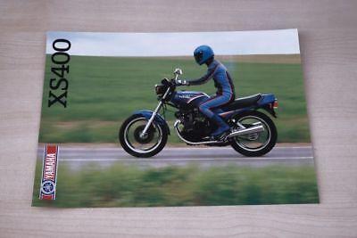 Prospekte Anleitungen & Handbücher 194395 Yamaha Xs 400 Prospekt 01/1985 Profit Small