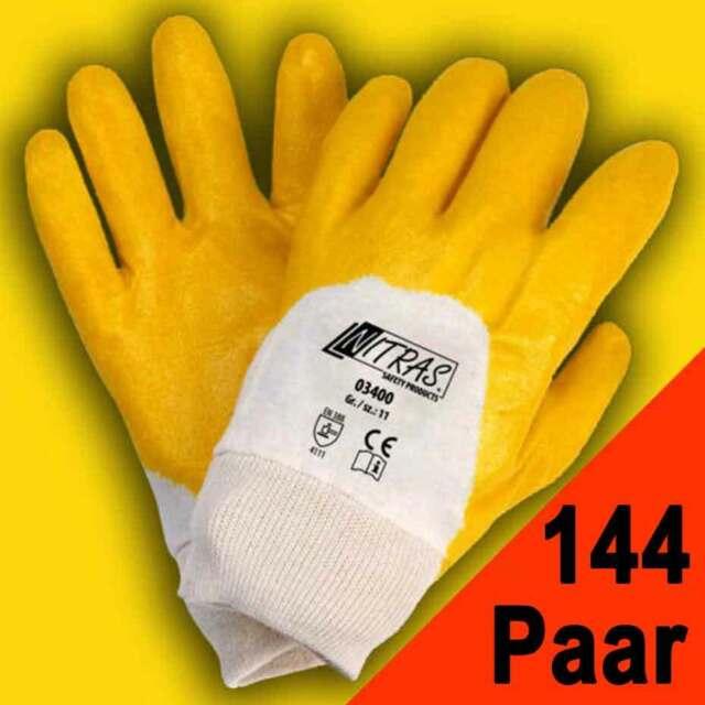 Nitril Arbeitshandschuhe 11 12 Paar NitrasNitrilhandschuhe Schutzhandschuhe