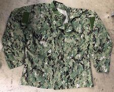 US NAVY USN AOR2 Army woodland Digital Pattern Shirt Jacke XLXL XLarge XLong