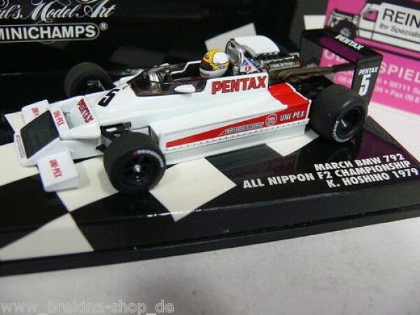 1 43 Minichamps March BMW 792 f2 K. Koshino 1979