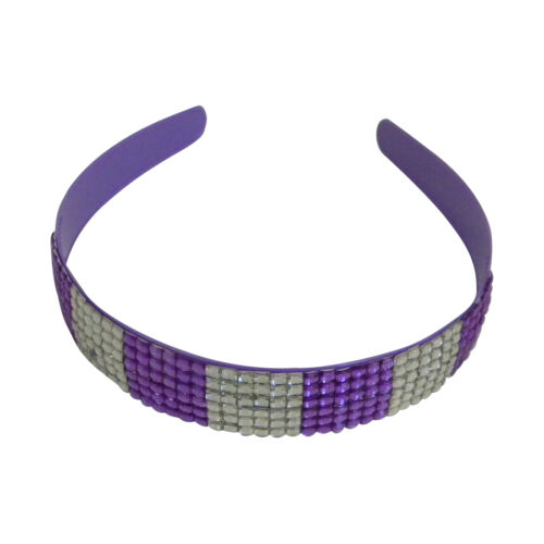 Infinity Head Band Cute Colorful Sparkly Hairband Accessory Striped Rhinestones