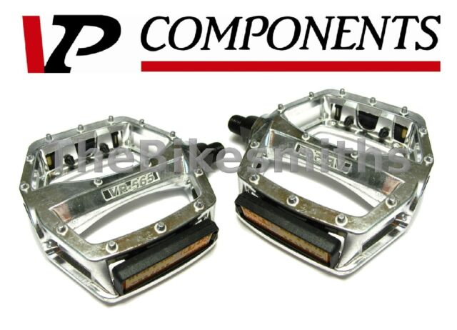 """Bicycle VP-565 Alloy Pedals 1//2/"""" White. New"""