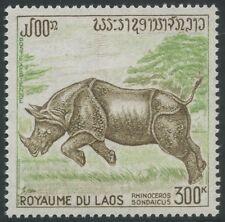 LAOS PA N°83* Rhinocéros, 1971 LAOS Javan rhinoceros MH