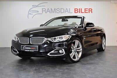 Annonce: BMW 430d 3,0 Cabriolet aut. - Pris 499.995 kr.