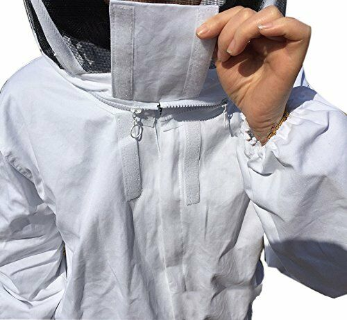 Bee Proof Suits Bee Jacket and Veil Bee Keeper/'s Suit White