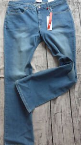 Sheego-Women-039-s-Jeans-Stretch-Size-44-to-58-Blue-Denim-499-307-New