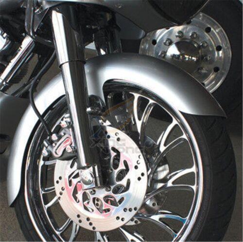 """6/"""" Wide Front Fender 23/"""" WHEEL 120-130 Tires Fit Harley Bagger Touring FLH FLTR"""