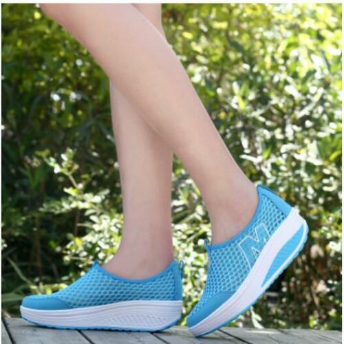 Women/'s Casual Chaussures De Marche Plate-forme Baskets Femmes Sport Fitness shoesoutdoor