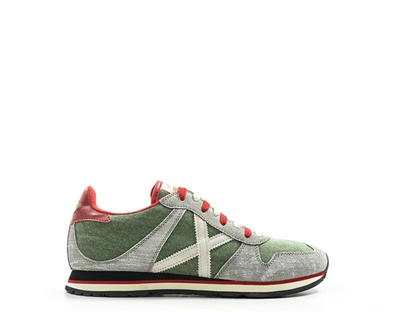 shoes MUNICH men Sneakers trendy  grey green  MASSANA67-US