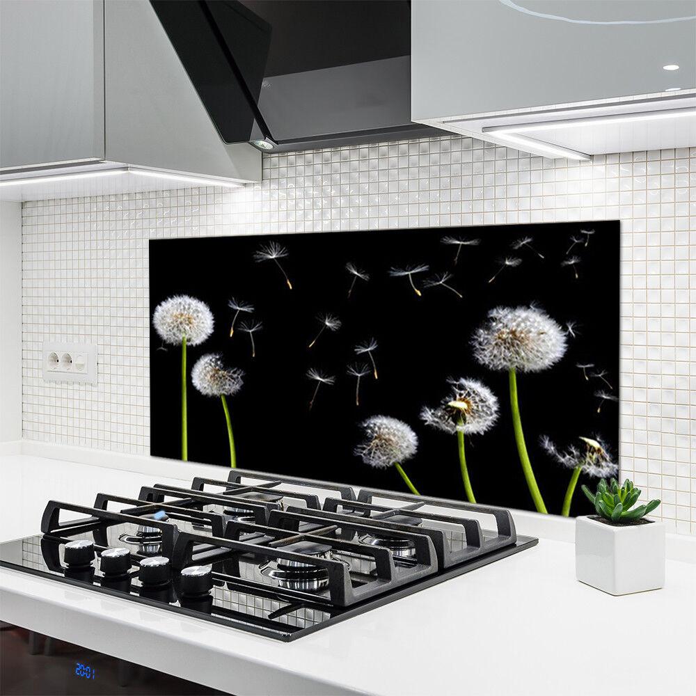 Crédence de cuisine en verre Panneau 120x60 Floral Pissenlits Pissenlits Pissenlits e9642b