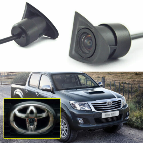 Car Front View Camera Logo Embedded 170° HD CCD for Toyota Hilux VIGO 2012-2015