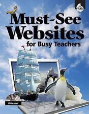 Must-See Websites TEACHERS AGES 5-9 EDUCATIONAL HOME SCHOOL PB NEW! FREE SHIP!