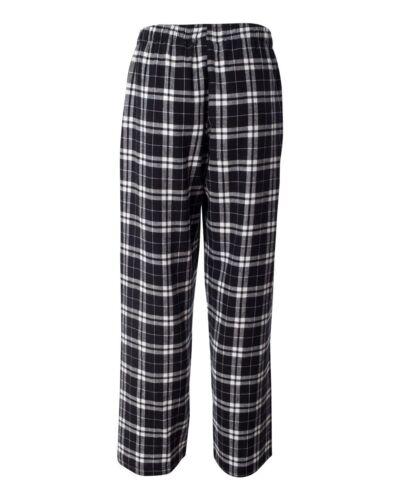 Flannel Pants Fashion Lounge Cotton Boxercraft Team Sport S-XXL Unisex Fit