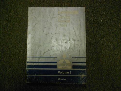 Other Car Manuals 1989 MITSUBISHI Mirage Service Repair Shop ...