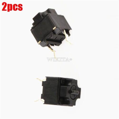 2Pcs Micro switch pour Souris Bouton Noir Marque Panasonic Square Nouveau IC FS
