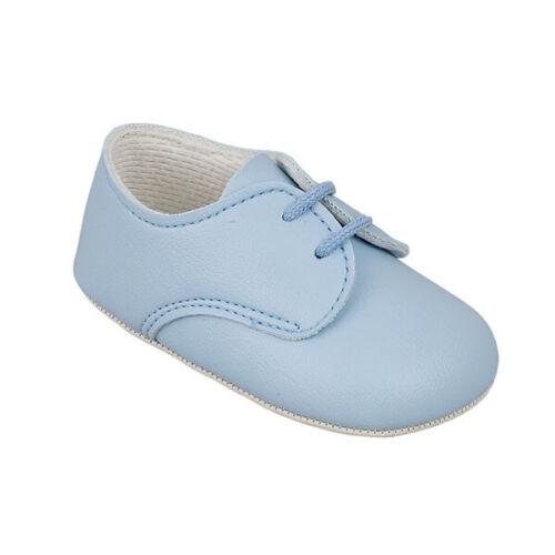 Festliche Baby Jungen Schuhe Taufschuhe Krabbelschuhe Babyschuhe blau