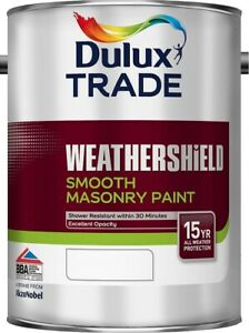 Dulux-Trade-Weathershield-Smooth-Paint-ALL-COLOURS-amp-SIZES-Tracked-Postage