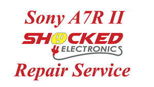 Sony A7R A7 R Mark II Repair Service - Impact / Water Damage WE CAN FIX IT !