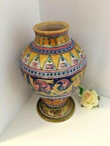 Gualdo-Tadino-Majolica-Pottery-Cooperativa-Ceramisti-Brand-with-Lustre-finish