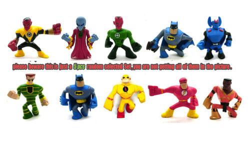 Lot of 5 Random DC Action League Zoom Top Dr Polaris Batman Guardian Figure