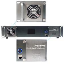 Retevis RT-9550 Digital/Analog Repeater IP Network DMR UHF 55W TDMA Transceiver