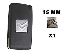 1-x-15mm-CITROEN-Replacement-Key-Fob-Badge-Sticker