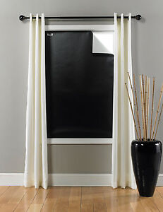 Blackout Ez Window Cover Large 45 Quot X 66 Quot Black White Ebay
