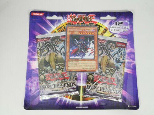 Yugioh Dark Legends 2 Blister Booster Pack Factory Sealed New