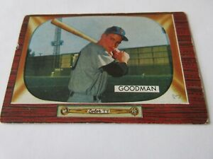 1955-Bowman-Baseball-Cards-Lot-of-12-Poor-Good-Condition-Cards