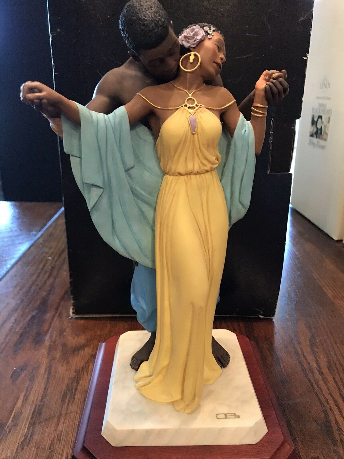 Thomas blackshear ebony visions the family limited edition first issue