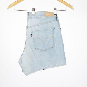 Levi-039-s-Women-039-s-hellblau-Denim-Shorts-Groesse-29