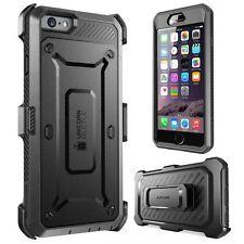 Apple IPhone 6/6S 4.7 Case Builtin Screen Protector Rugger Holster Bumper Black