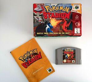 Details about Pokemon Stadium - Original N64 Nintendo 64 Game - PAL Boxed
