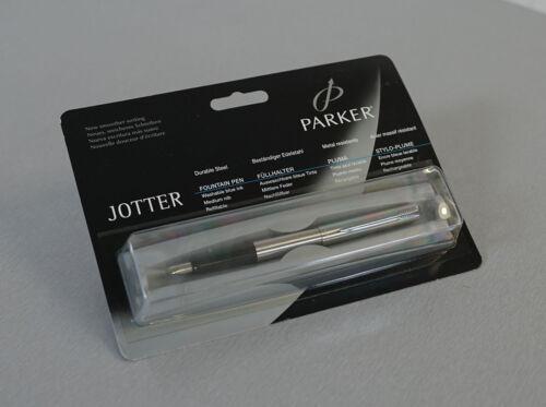 Parker Jotter Füller Füllfederhalter Fountain Pen NEU in OVP unbenutzt RAR