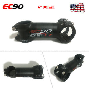 EC90-guidon-tige-de-6-Degre-90-mm-Longueur-en-fibre-de-carbone-Aluminium-Velo-De-Montagne-Velo-Bar